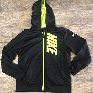 Nike workout hoodie jacket